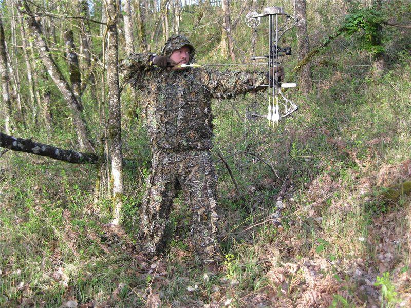 tenue deerhunter sneaky 3d archerie frere loup. Black Bedroom Furniture Sets. Home Design Ideas